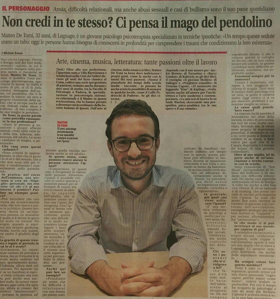 psicologo ipnosi Verona e Legnago