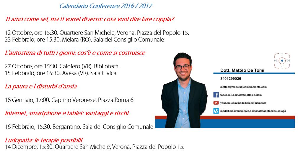 Psicologo Verona Conferenze